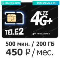 купить безлимитную сим карту теле2 для интернета и звонков