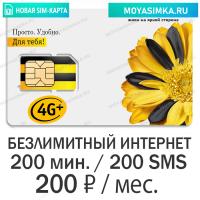купить sim карту билайн с безлимитным интернетом