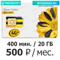 SIM-карта для звонков и интернета Билайн Bl 500